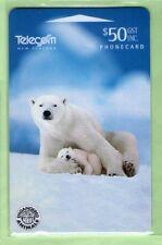 New Zealand - 1996 Endangered Species - $50 Polar Bear - NZ-D-57 -Mint - #150005