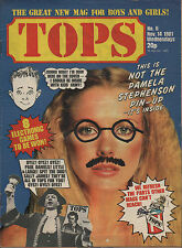 Pamela Stephenson on TOPS Magazine Cover No.6  14 November 1981  Shakin' Stevens