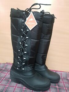 NEW ** HARRY HALL **LUNA  LONG NEOPRENE MUCK BOOT RIDING BOOTS ADULTS SIZE 7