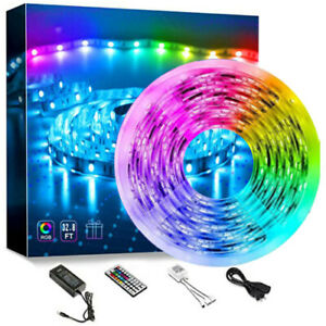 Led Strip Lights 32.8ft RGB Led Room Lights 5050 Led Tape Lights Color Changing