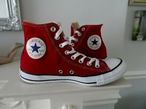 LADIES HIGH TOP CONVERSE TRAINERS UK SIZE 7