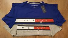 Tommy Hilfiger Mens Crew Neck T-Shirt Short Sleeve Graphic Tee Vintage Flag Logo