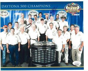 Buddy Baker & David Pearson dual signed NASCAR 8x10 Photo -JSA (Daytona Champs)