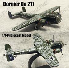 WWII German Dornier Do 217 bomber aircraft 1/144 plane diecast model