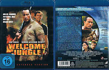 WELCOME TO THE JUNGLE --- Blu-ray --- Extended Version --- Dwayne Johnson ---