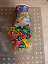 Holz-Spielzeug, Bauklötze und Puzzle, Gebraucht, vollständig.