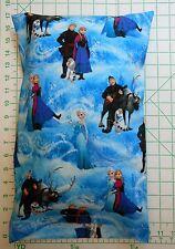 FROZEN Elsa Anna Hans Olaf Sven Small Pillow Case with Travel / Toddler Pillow