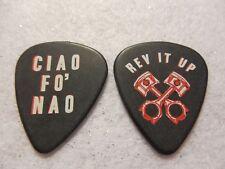 GUITAR PICK  Billy Gibbons - ZZ Top Rev it Up guitar pick   No lot
