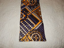 """Vintage Polyester Long Large Scarf - 8"""" x 68"""""""