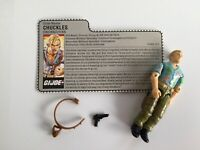GI Joe ARAH Hasbro 1987 Chuckles v1 Undercover Complete w File Card ~ ARAH