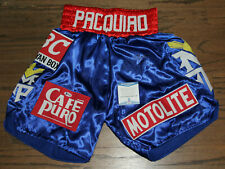 MANNY PACMAN PACQUIAO SIGNED AUTOGRAPHED AUTO BOXING TRUNKS BECKETT BAS #S07409