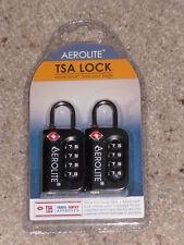 TSA COMBINATION Travel Locks By Aerolite