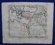 Original antique map MIDDLE EAST, MEDITERRANEAN, Brion de la Tour, 1774