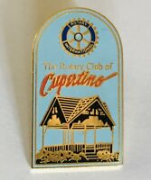 Cupertino Rotary International Club Souvenir Pin Badge Rare Vintage (C3)