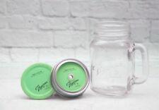 Bicchieri verde con coperchio