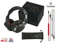OneOdio Pro-50 écouteurs DJ de Studio pro, écouteurs avec Microphone Over Ear