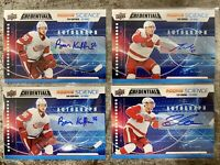 2019-20 CREDENTIALS 5x RED WINGS ROOKIE SCIENCE AUTO LOT ZADINA HIROSE KUFFNER