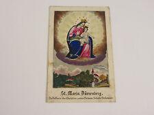 Wallfahrt Gnadenbild St Maria Durrenberg Andachtsbild