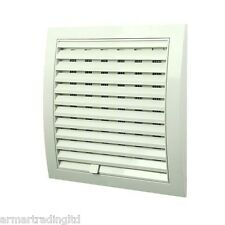 """Air Vent Grille 250mm x 250mm / 10"""" x 10 inch with Adjustable Shutter Grid POW54"""
