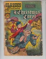 "Classics Illustrated 53/HRN 53 Fair (1.0) 1st Ed! ""A Christmas Carol"" by Dickens"