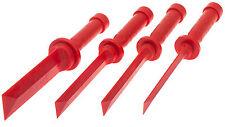 Kunststoff Schaber Satz 4-tlg Dichtungsschaber Kfz Werkzeug Klebereste entfernen