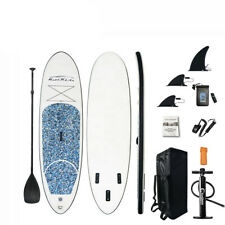 "Tabla inflable de stand up Paddle, SUP grueso de 10"" con accesorios premium"