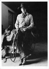 Brian Thomas 1984•St.David, Arizona•Cowboy•Photo Douglas Kent Hall Postcard 4x6
