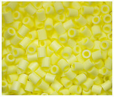 1000 Perler Pastel Yellow Color Iron on Fuse beads New