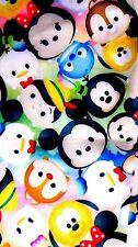 NEW! Disney Tsum Tsum Leggings Pants Mickey Minnie Pinocchio Donald Stitch Pluto