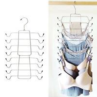 Multi-layer Foldable Underwear Camisole Storage Rack Multi-Function Magic Hanger