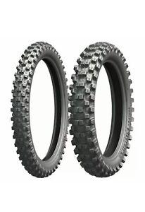 80/100-21 51R &110/90 62R Michelin tracker Mx Enduro Road Tyres
