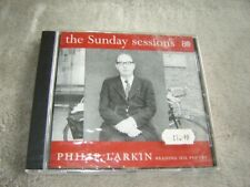 Philip Larkin reading his poetry - The Sunday Sessions CD SEALED UK release