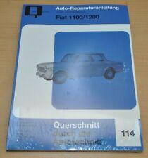 FIAT 1100 1200 R millecento ab 1956 Motor Kupplung Reparaturanleitung B114
