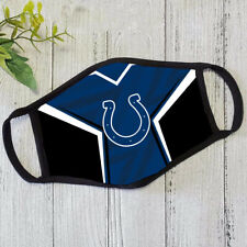 Indianapolis Colts Face mask American Football Cloth Face mask Reusable