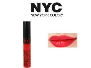NYC SMOOCH PROOF LIQUID LIP STAIN LIPSTICK 200 GET NOTICED 7ML & FREE 1 LIPLINER