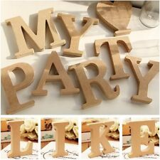 A-Z Wooden 26 Letters Word Alphabet Wall Hanging Wedding Party Venue Decoration