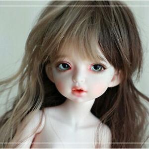1/6 BJD Doll SD Resin Girl Bare Dolls + Random Eyes + Face Make Up Toy XMAS GIFT
