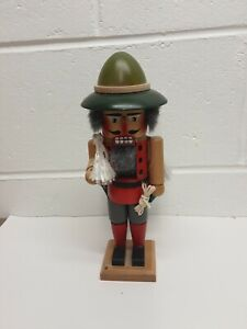 "Vintage Collectible Steinbach Nutcracker 11"" Mountain Climber. Made in Germany"