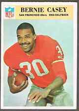1966 Philadelphia Football Card #174 Bernie Casey - >50-years old, see pics!