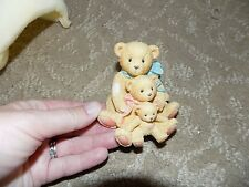 """Cherished Teddies Figurine-Theadore,Samanth a & Tyler """"Friends Come In All Sizes"""""""