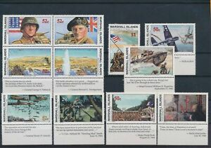 LO43486 Marshall Islands mixed thematics nice lot of good stamps MNH