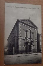 Postcard Church of The Holy redeemer Cheyne Row Chelsea posted