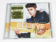 Justin Bieber - Believe Acoustic Limited Edition CD - New, Sealed