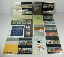 GB 1981 Presentation Packs; Complete Year - 8 Packs; British P.O. Mint Stamps
