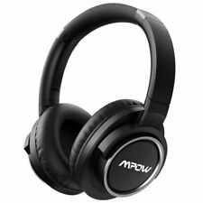 Mpow H3 Over Ear Wireless Headset Noise Cancelling Headphone for Cell Phone/PC