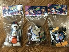 "Space Jam TAZ BUGS BUNNY DAFFY DUCK Tune Squad 9"" McDonalds Basketball 1996 NEW"