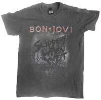 Bon Jovi 'Slippery When Wet' (Vintage Wash) T-Shirt - Ultrakult Clothing - NEW