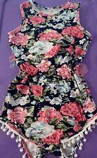 Children's Clothing Girls Floral Romper