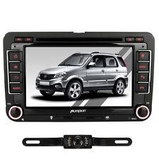 "7"" 2Din In Dash Autoradio DVD Player GPS Bluetooth USB/TF FM Aux-IN DVB-T+KAMERA"