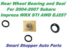 1 Rear Wheel Bearing & Seal for 2004 2005 -2007 Subaru Impreza WRX STI AWD EJ257